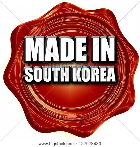 Made in south korea