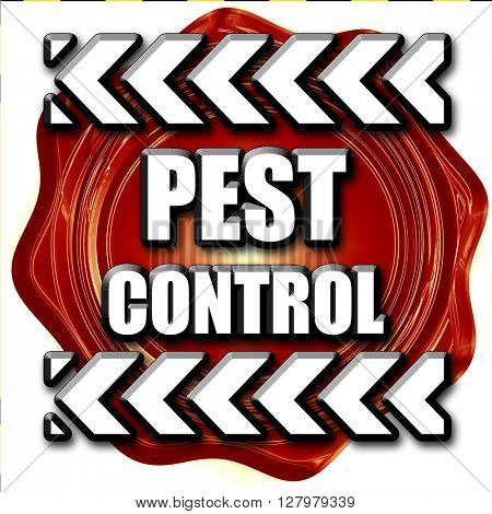 Pest control background