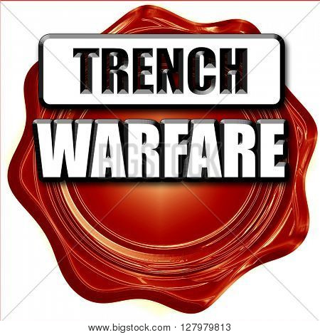 trench warfare sign