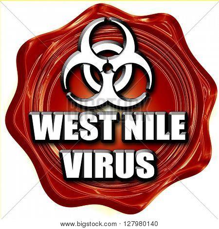 West nile virus concept background