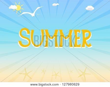 Sunny Summer Illustration