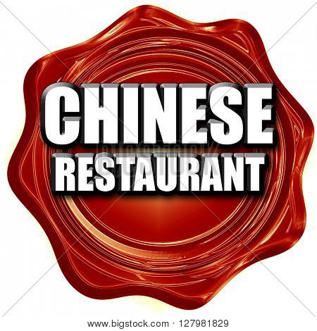 Delicious chinese restaurant