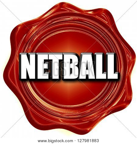 netball sign background