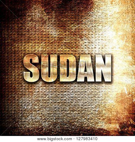Greetings from sudan