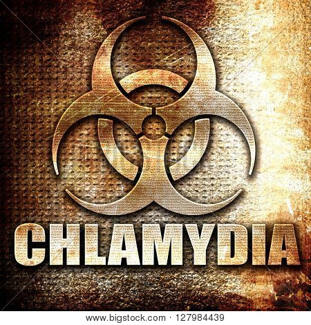 Chlamydia concept background