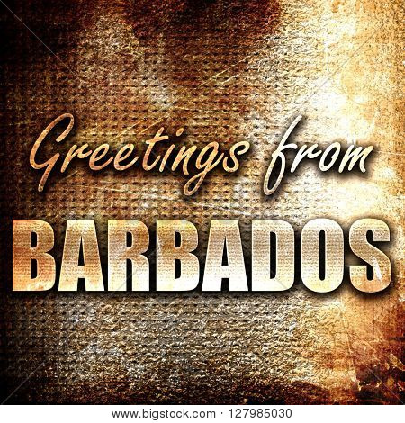 Greetings from barbados