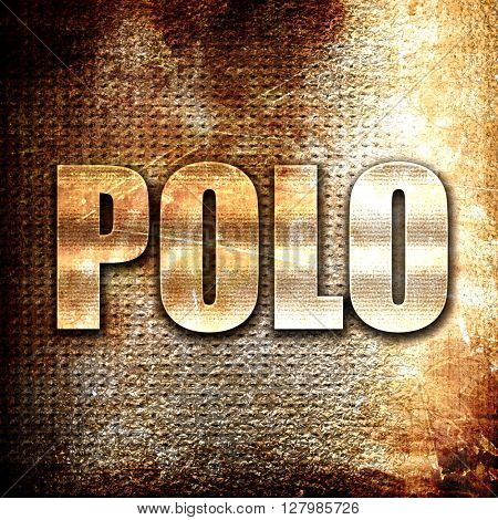 polo sign background