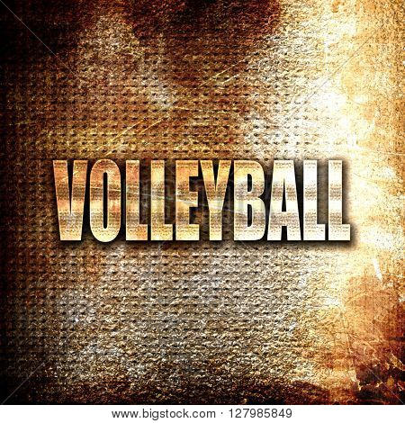 volleyball sign background