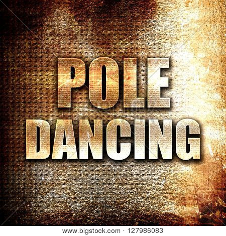 pole dancing sign background
