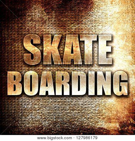 skate boarding sign background