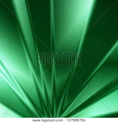 Green geometric background