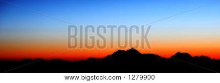 Mount Mckinley Silhouette
