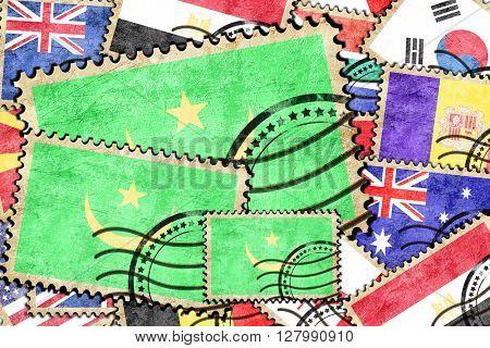Mauritania vintage  postal stamp