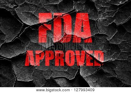 Grunge cracked FDA approved background