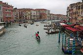 Постер, плакат: Канал Гранде Венеции Италия