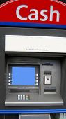 image of automatic teller machine  - cash machine - JPG