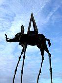 Long Legged Elephant poster