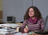 Smiling Female Student