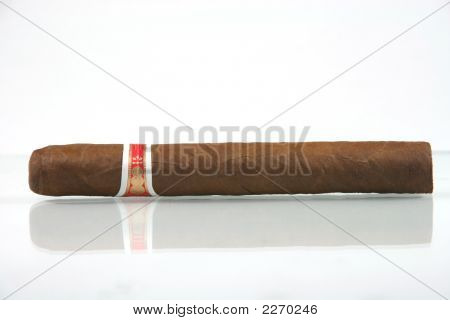 Cigar With Reflection