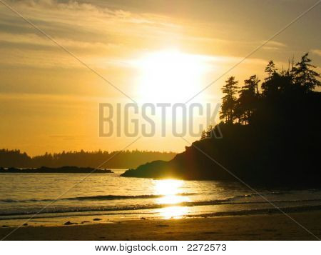 Sunset Vancouver Island
