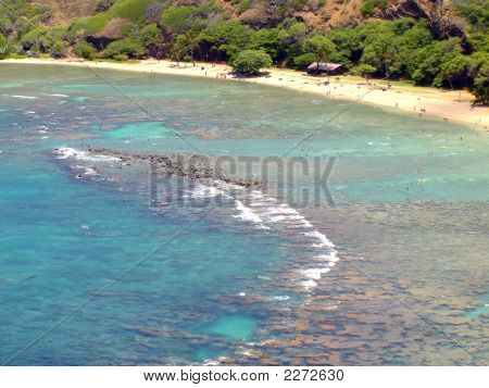 Hanauma Bay Nature Park On The North Shore Of Oahu, Hawaii
