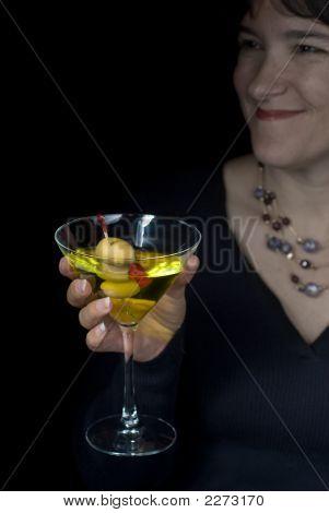 Martini In Black