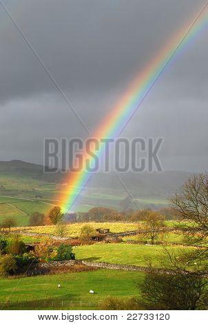Paisagem de arco-íris