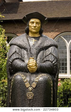 Estatua de Thomas More, Chelsea
