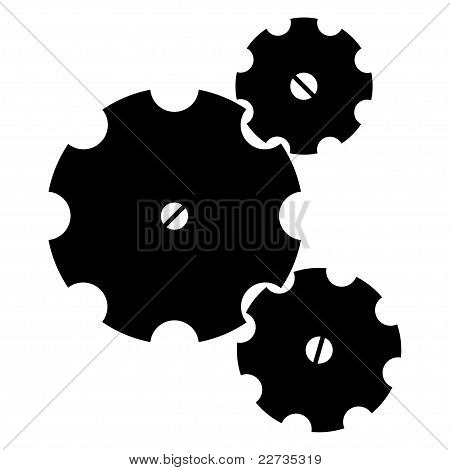 Three Gearwheels