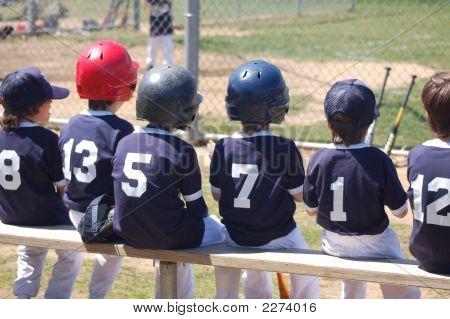 Kids Baseball Team Jpg