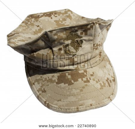 Marine Corps Camouflage Cover Desert