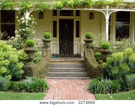 Steps To Verandah
