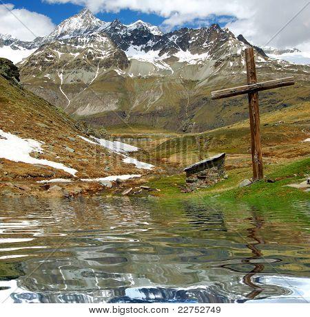 swiss alps-Ober Gabelhorn