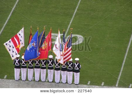 Rotc Cadet Flag Ceremony