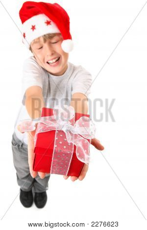 Joy Of Giving A  Christmas Gift
