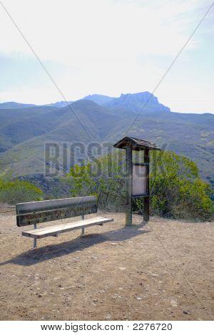 Bench And Kiosk