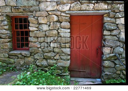 Granite House Door