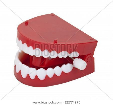 Fake Chattering Teeth