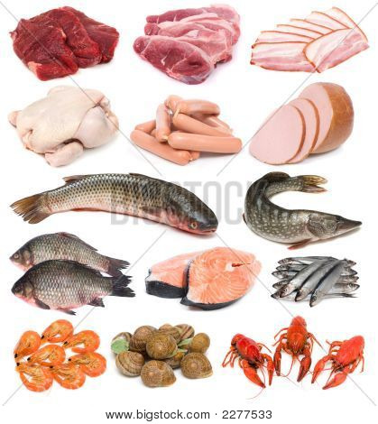 Meat, Fish And Seafood