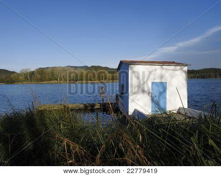 Banyoles Lake, Catalonia