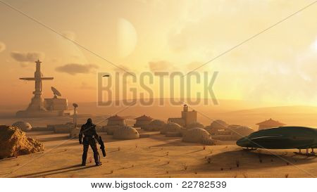Desert Science Fiction Village