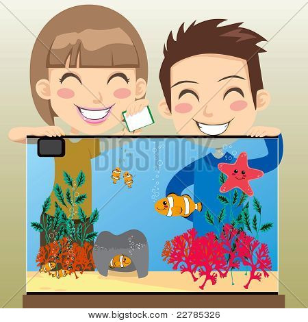 Happy Kids Aquarium