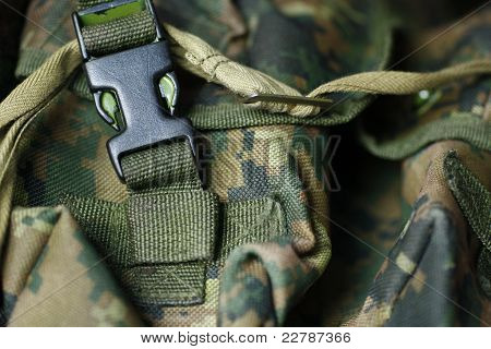 Military texture of tactical vest