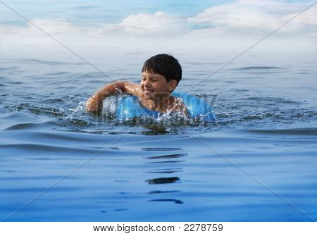 Swiming Boy