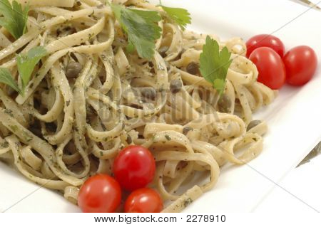 Pesto Linguine