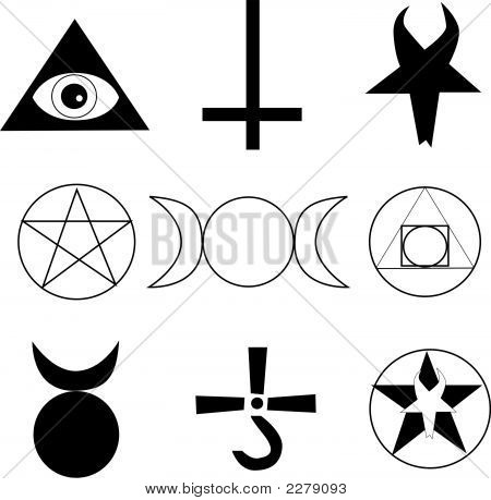 Occult symbols and signs