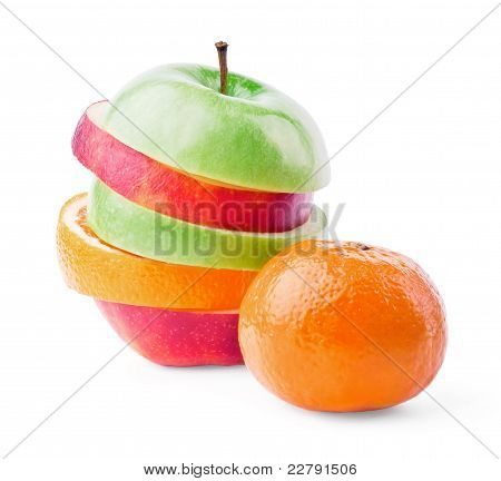Mixed Fruit With Mandarin