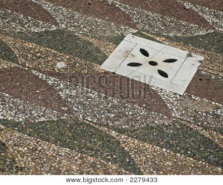 Piso de mosaico romano