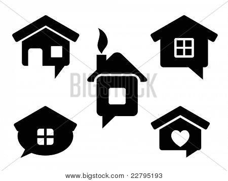 house chat bubble