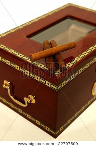 Cigars, Humidor Box